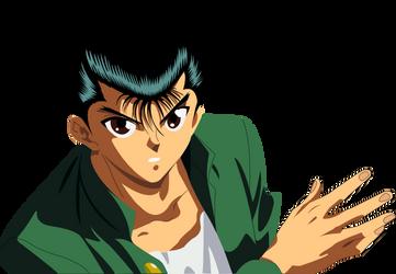 Yusuke - Yu yu Hakusho by diegocamara