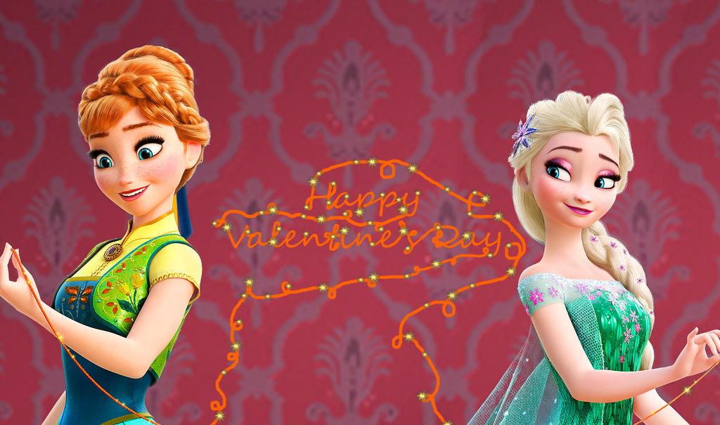 Frozen Fever Valentine's Day by MistiqueFour