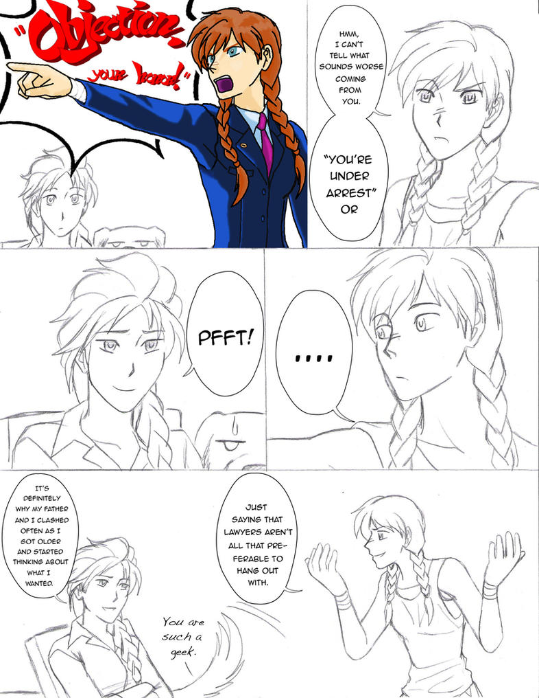 Anna Ace Attorney (Copper 17-20) by MistiqueFour