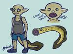Lampling Splatoon Character