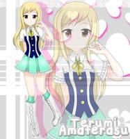 Star Idol Academy - Terumi Amaterasu by ZenNiibi2