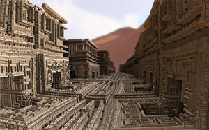 Ancient labyrinth by Theli-at
