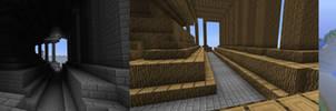 Mandelbulb to Minecraft test 2