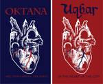 Blue Heart Prints on TShirts