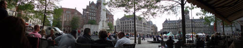 Amsterdam Panorama 2 by Deathanee