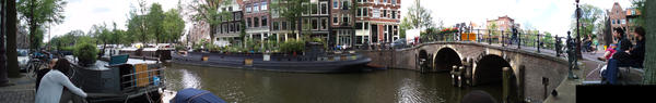 Amsterdam Panorama 5 by Deathanee