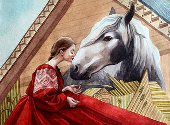 The horse in Slavic culture