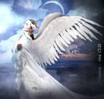 An Angel Facing Light!