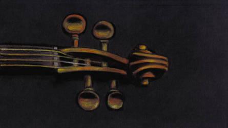 Violin Scroll II