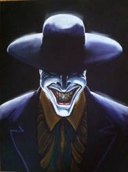 The Joker based on Alex Ross by lladnar23