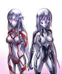 Golem Asuna and Kirito by Ibenz009