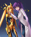 Corrupted Nanoha and Fate by Ibenz009