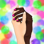 Love Always Wins - Digital Art by Lwyse