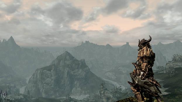 Skyrim Wallpaper - Dovakhiin Scaleknight by EonLatias