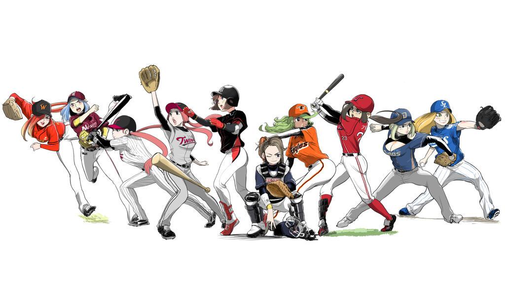 korea pro baseball team by mulecans