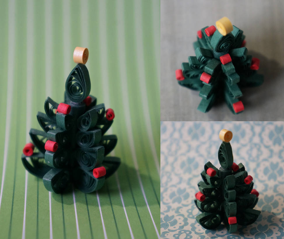 Quilled Christmas Tree By Stillwithinview On Deviantart