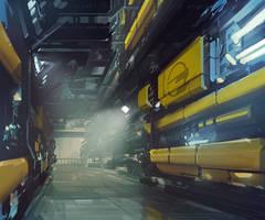 corridor by Pericolos0