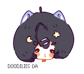 Chibi Head Commission 4 by Doodilies