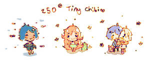 Cheap Mini Chibis (250 Points) OPEN! by Doodilies