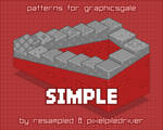 Simple patterns cover