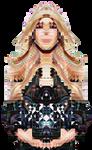 She #4 (PixelArt meets DeepDream)