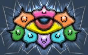 color eye doodle by ReSampled