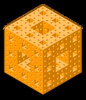 Menger Sponge by ReSampled