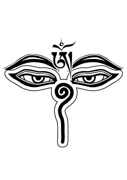 Tibet Eyes Vector by ReSampled