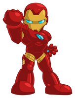 Chibi - Iron Man (original by JaeyRedfield) by ReSampled