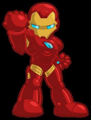 Chibi - Iron Man (original by JaeyRedfield) by ReSampled