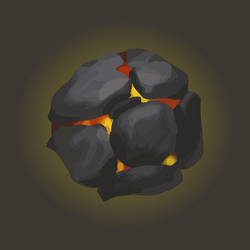 Fire Stone (vector) by ReSampled