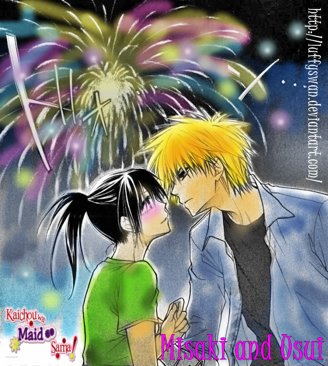 usui and misaki love by LuffySwan