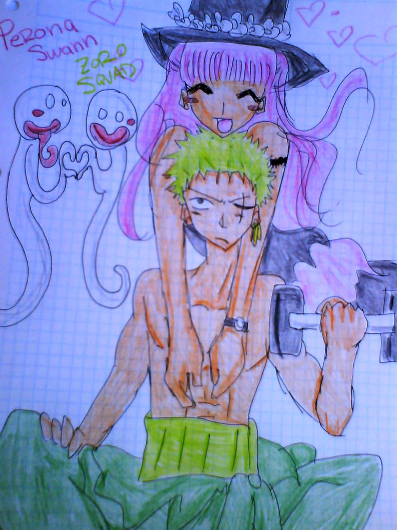 Perona and zoro lovely by LuffySwan