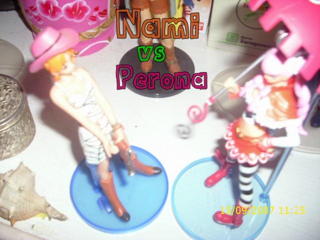 perona vs nami by LuffySwan