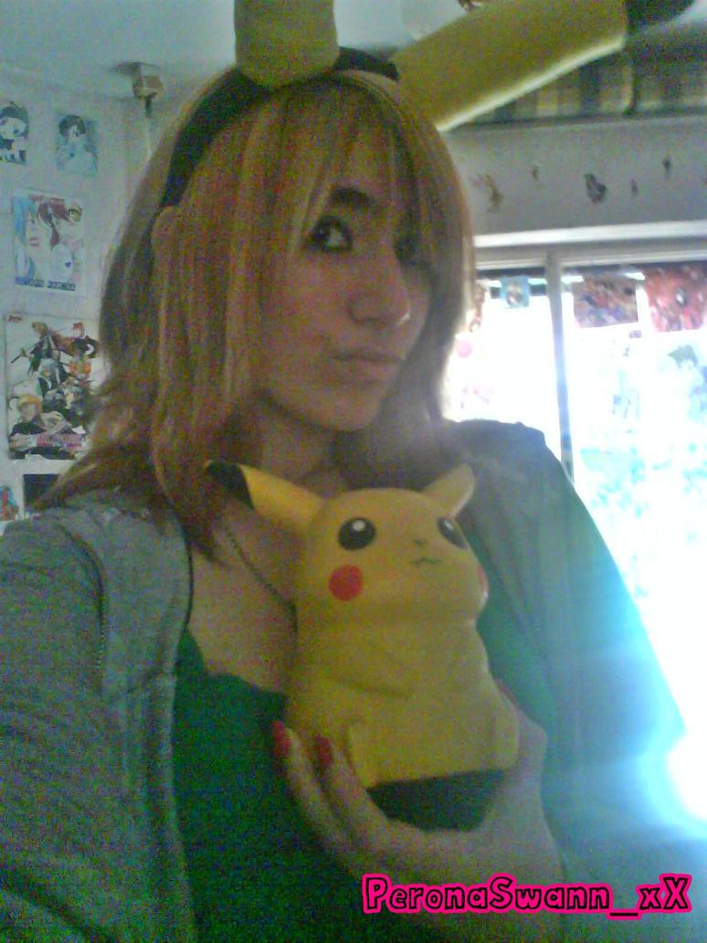 Pikachu Girl by LuffySwan