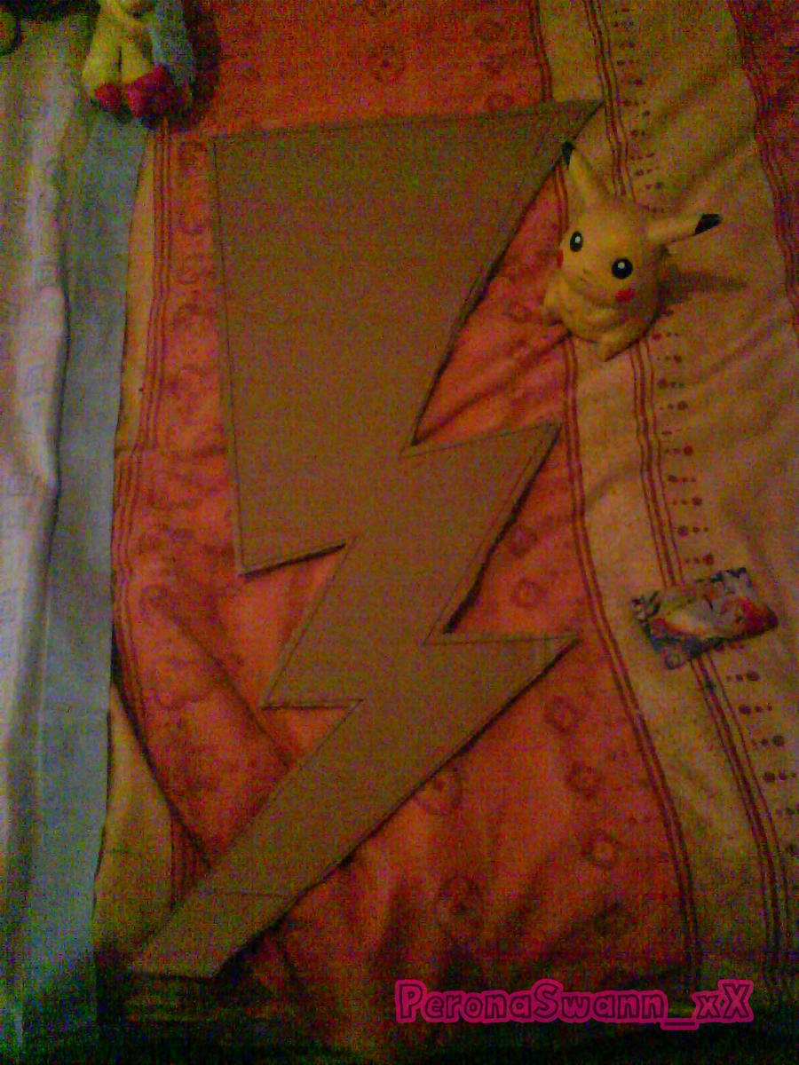 Pikachu tail by LuffySwan