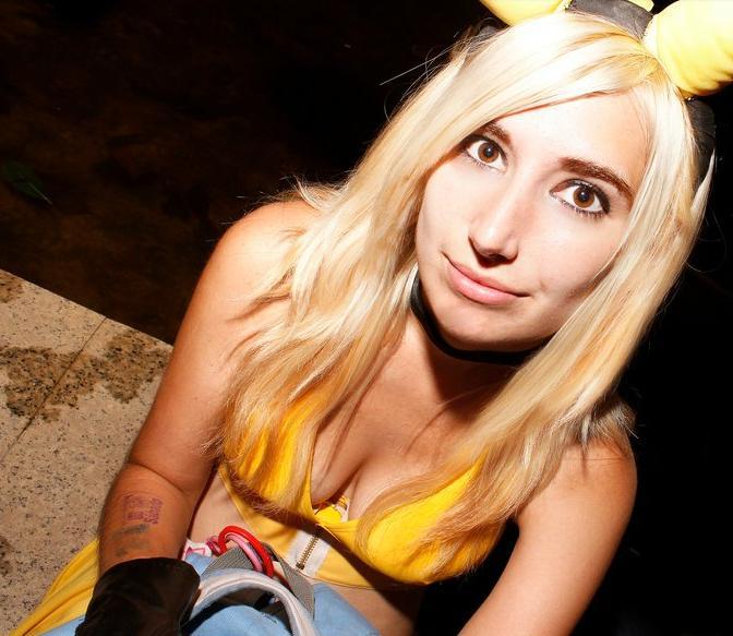 Pikachu look by LuffySwan