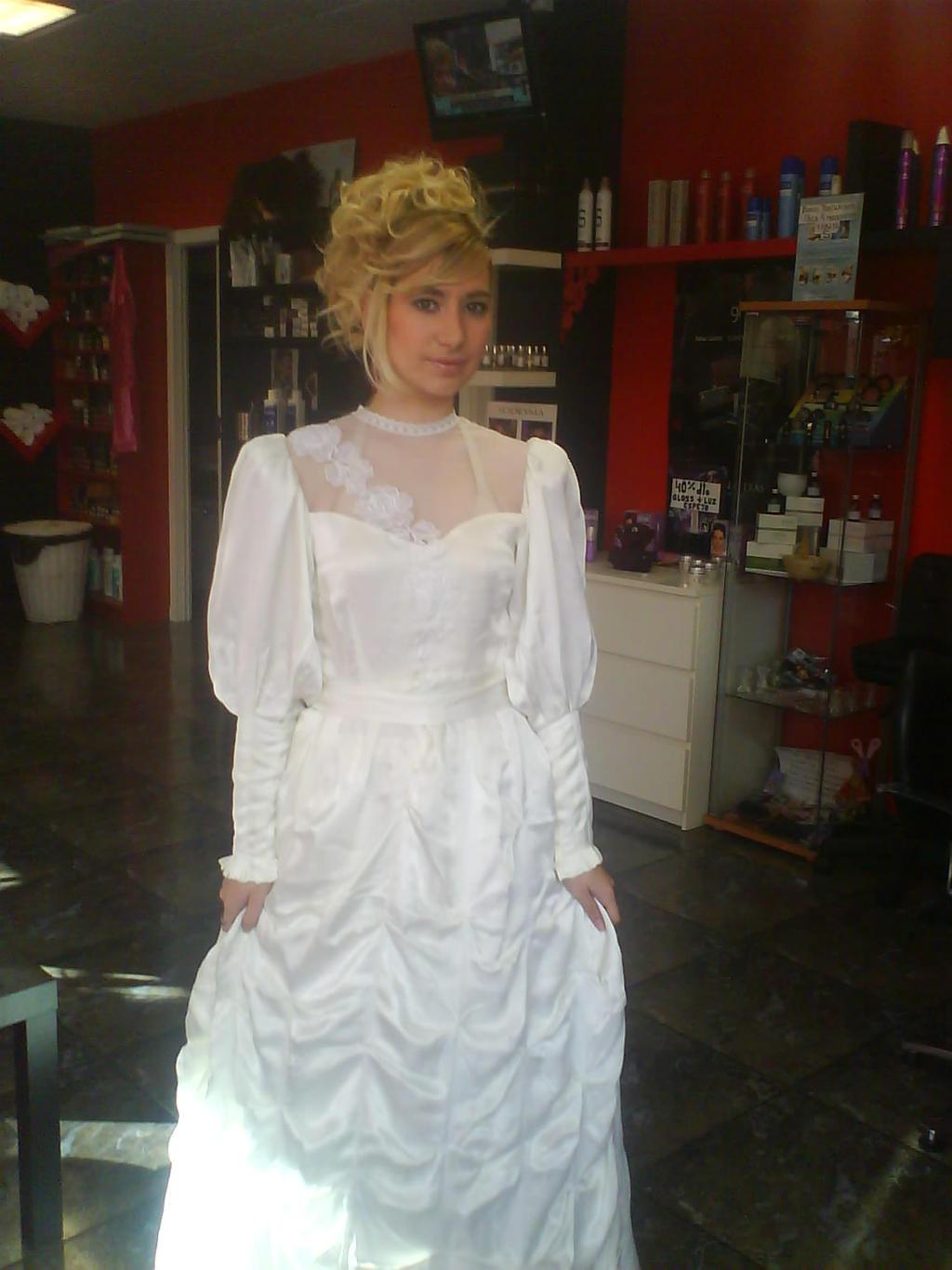 Wedding Dress by LuffySwan
