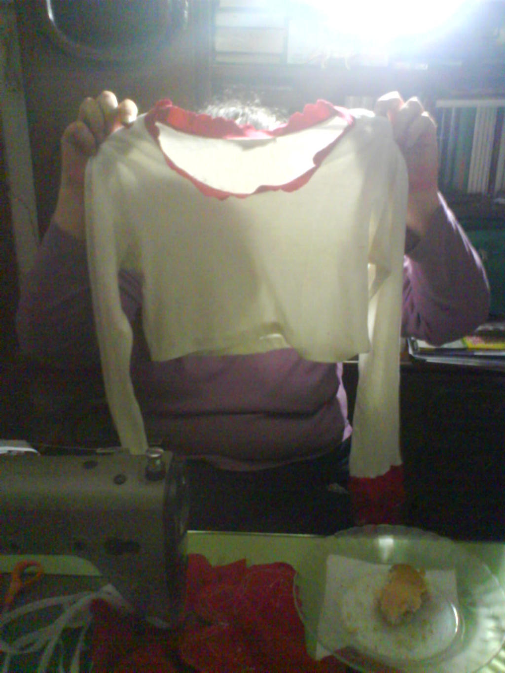 Perona shirt unfinished by LuffySwan