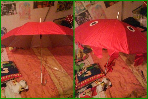 Perona umbrella (not finished) by LuffySwan