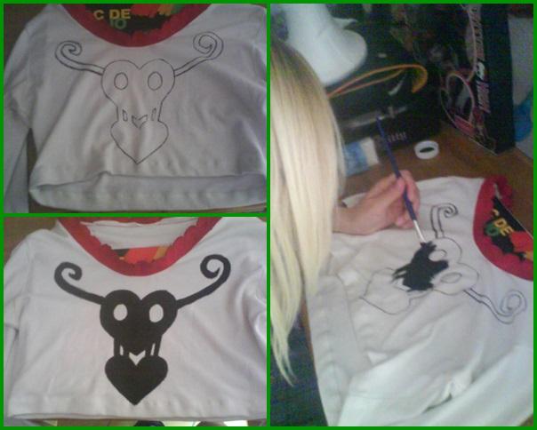 Perona T shirt Finished by LuffySwan
