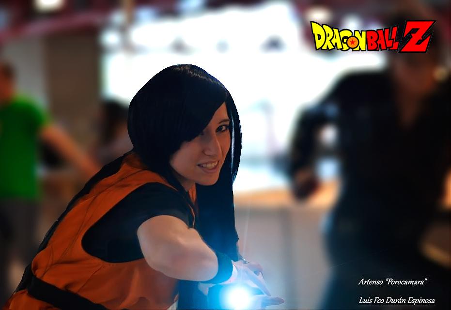 Kame-Hame Son Goku by LuffySwan