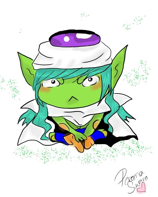Lady Piccolo Chibi by LuffySwan