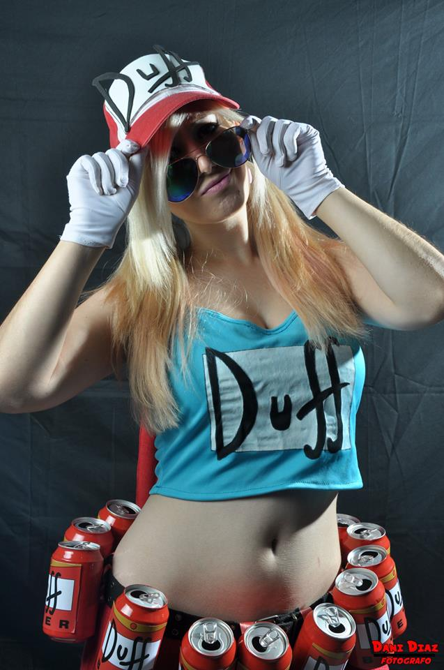 Duffwoma, Los Simpsoms by LuffySwan