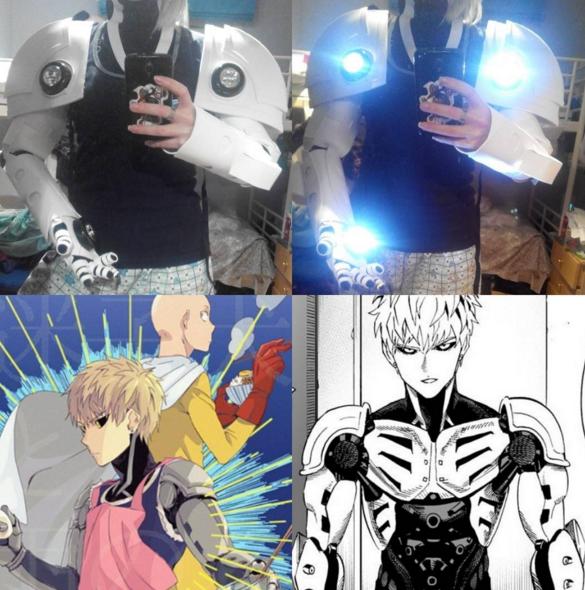Genos Armor by LuffySwan