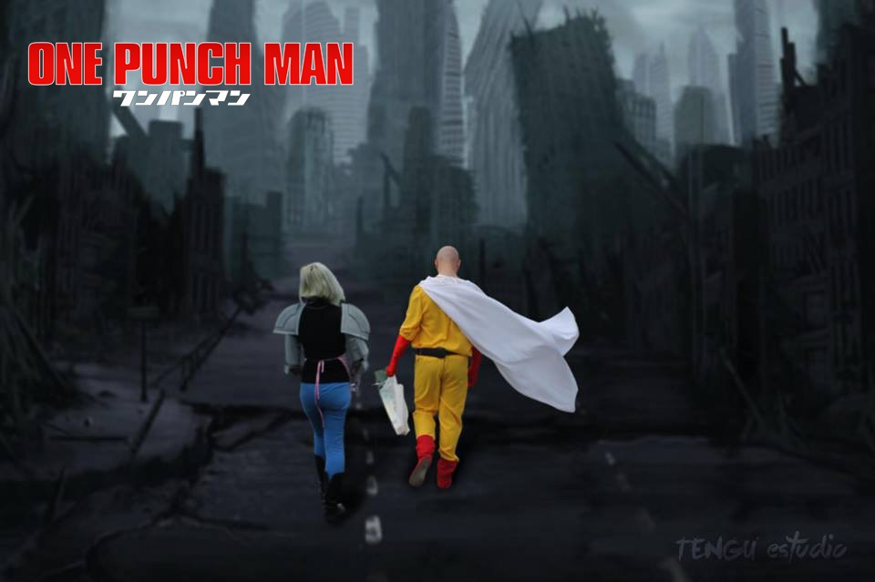 One punch man by LuffySwan