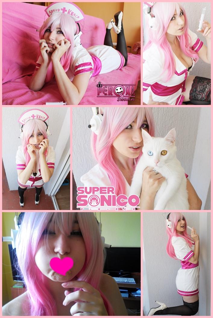 Super Sonico Spain by LuffySwan