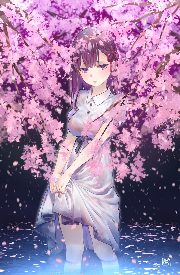 sakura - heaven's feel by BOMHAT