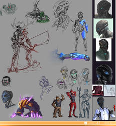 Sketchdump 25.10.2015 by Just-Rube