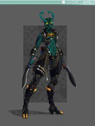 Dark Hunter Lariska_01 by Just-Rube